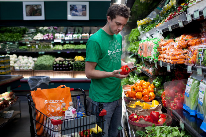 Instacart updates grocery delivery charges