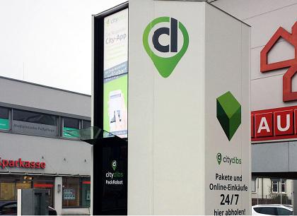Smart Mile Solutions installs first PackRobot parcel station in Germany