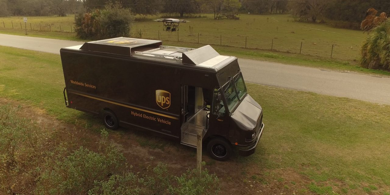 UPS tests delivery drone in Florida