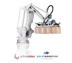 Prime Vision and Delft Robotics team up for postal logistics automation