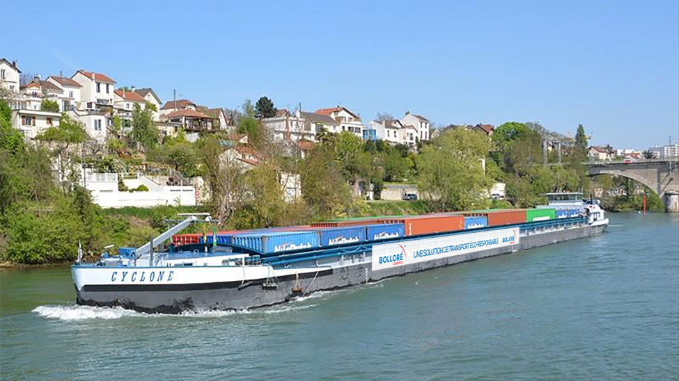 Bolloré barge deliveries
