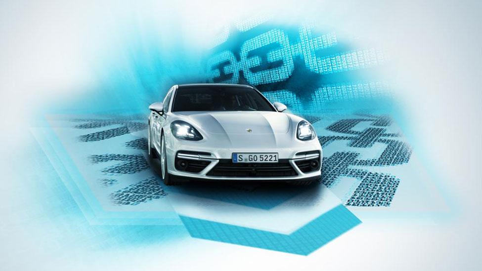 Parcels delivered to your Porsche