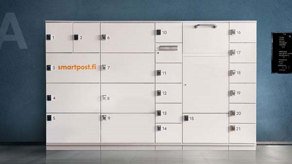 Posti installing Smartpost parcel machines in Peab's new Helsinki buildings