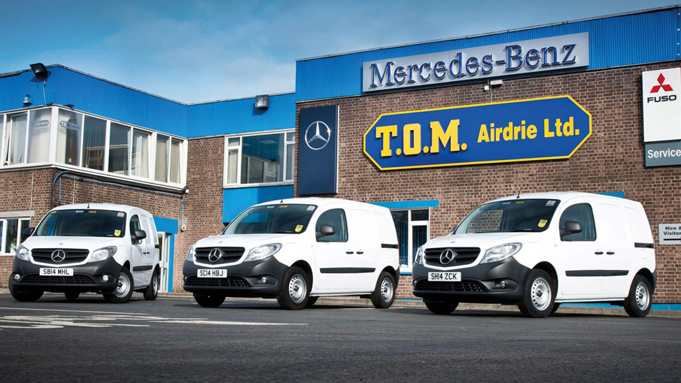 Commercial vehicle hire company T.O.M. Group goes into administration