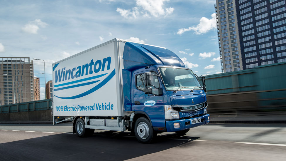 Wincanton takes delivery of FUSO eCanter vehicles