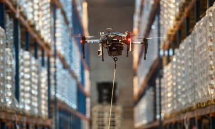 "GEODIS and DELTA DRONE unveil ""completely automatic"" warehouse inventory system"