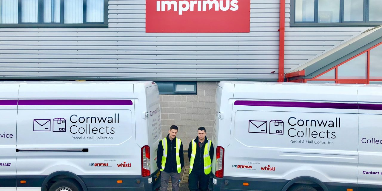 """Whistl and Imprimus launch """"Cornwall Collects"""""""