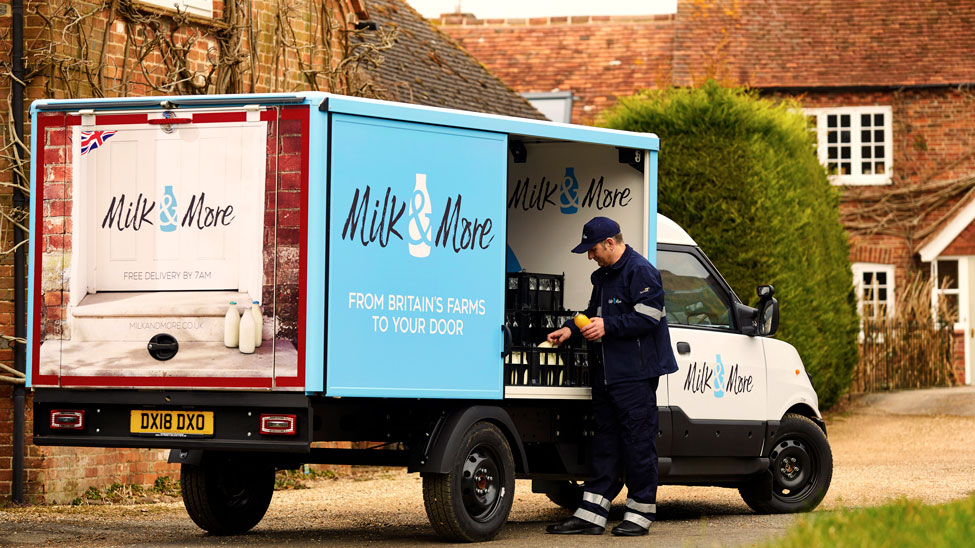 Milk & More orders StreetScooters