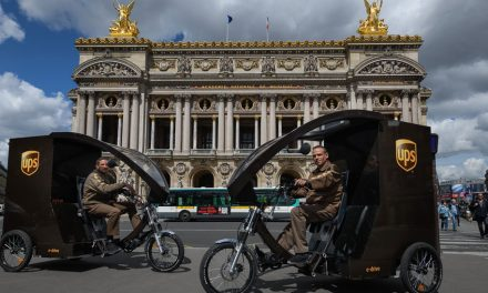 UPS trialing eBikes in Paris